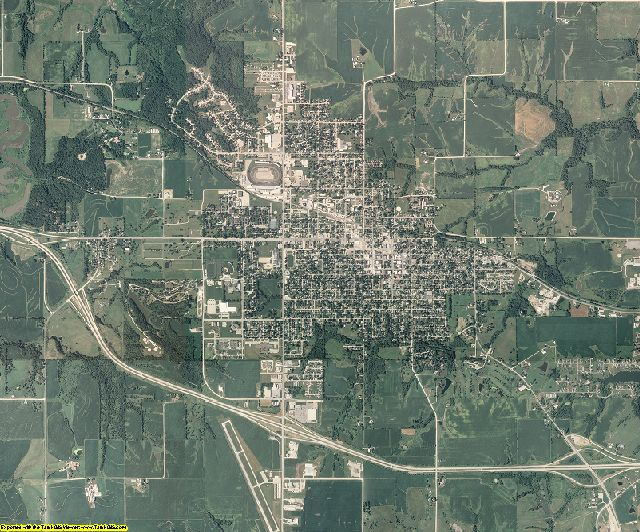 Marion County, Iowa aerial photography
