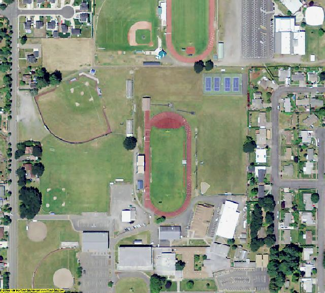 Marion County, OR aerial photography detail