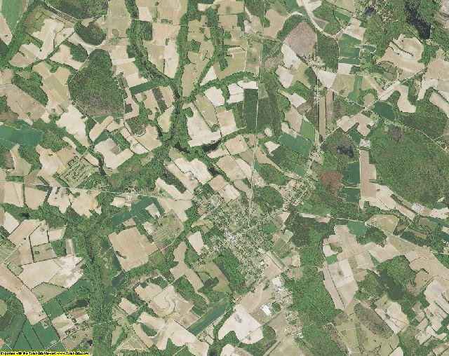 Marlboro County, South Carolina aerial photography