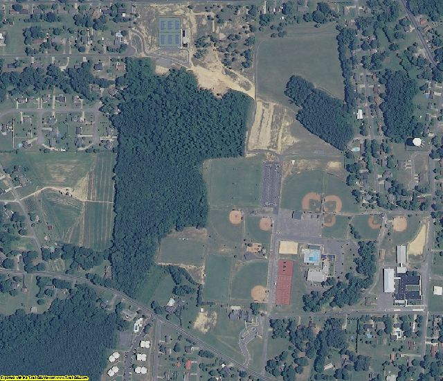Marshall County, AL aerial photography detail