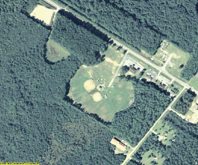 McIntosh County, GA aerial photography detail