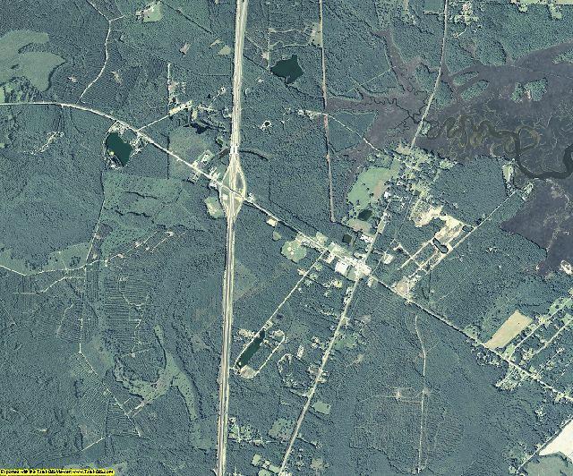 McIntosh County, Georgia aerial photography
