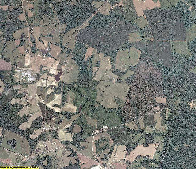 Mecklenburg County, Virginia aerial photography