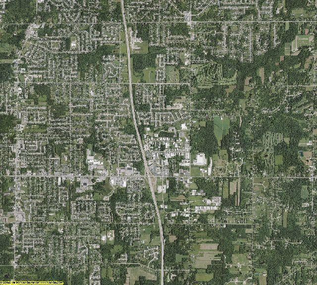 Medina County, Ohio aerial photography