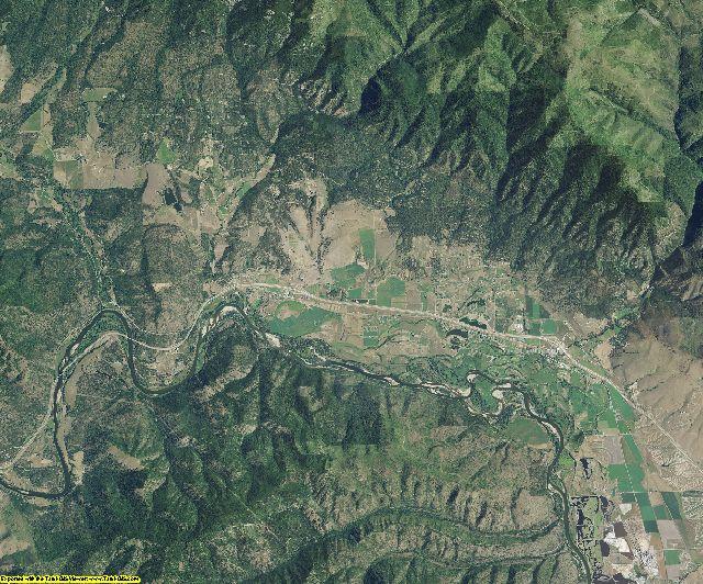 Missoula County, Montana aerial photography