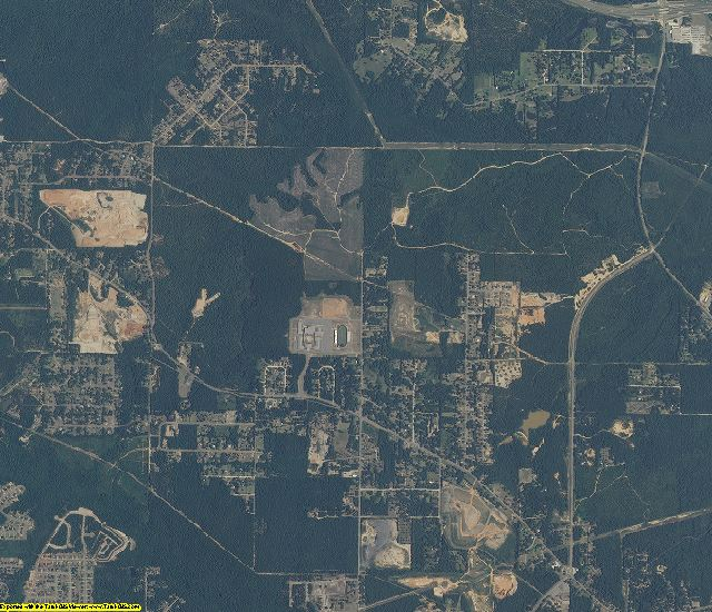 Mobile County, Alabama aerial photography