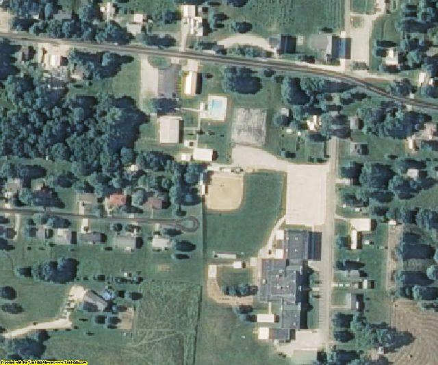Moniteau County, MO aerial photography detail