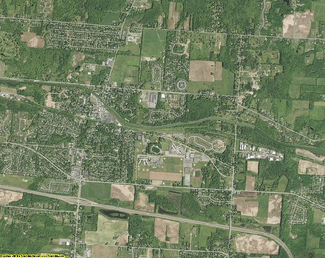 Monroe County, New York aerial photography