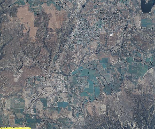 Montezuma County, Colorado aerial photography