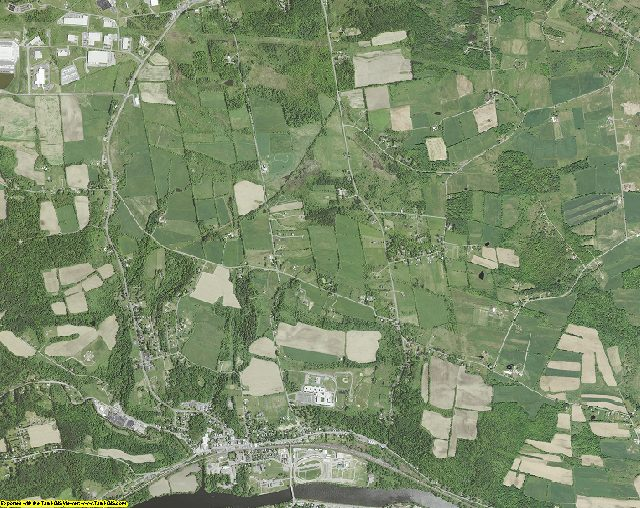 Montgomery County, New York aerial photography