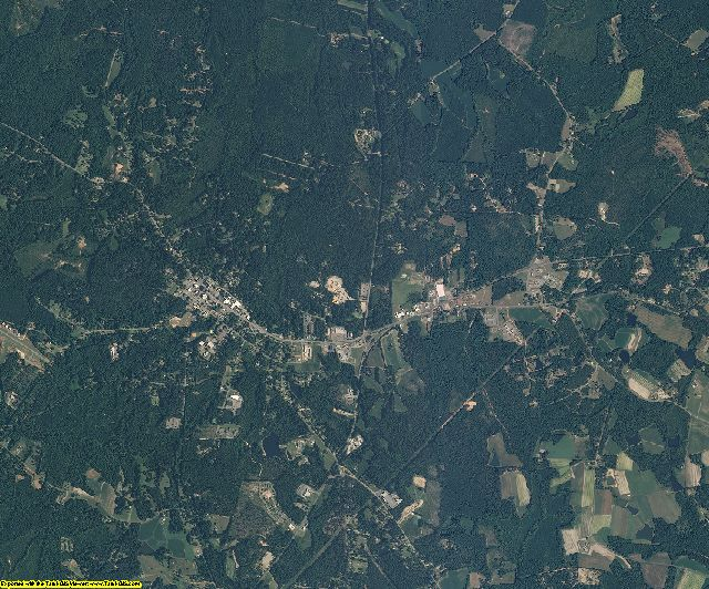 Moore County, North Carolina aerial photography
