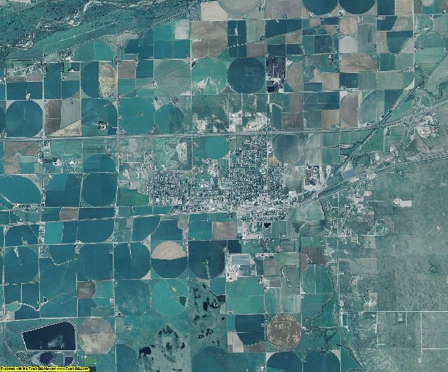 Morgan County, Colorado aerial photography