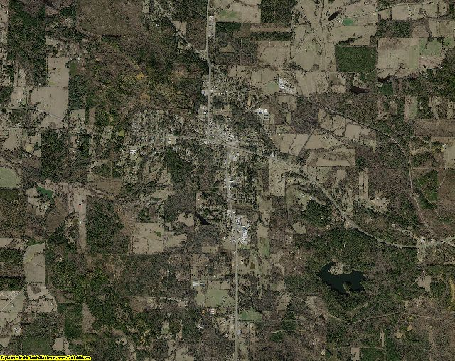 Morris County, Texas aerial photography