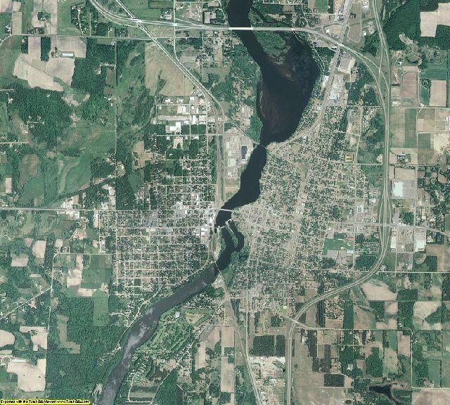 Morrison County, Minnesota aerial photography