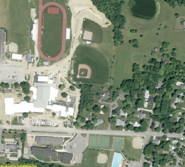 Morrow County, OH aerial photography detail