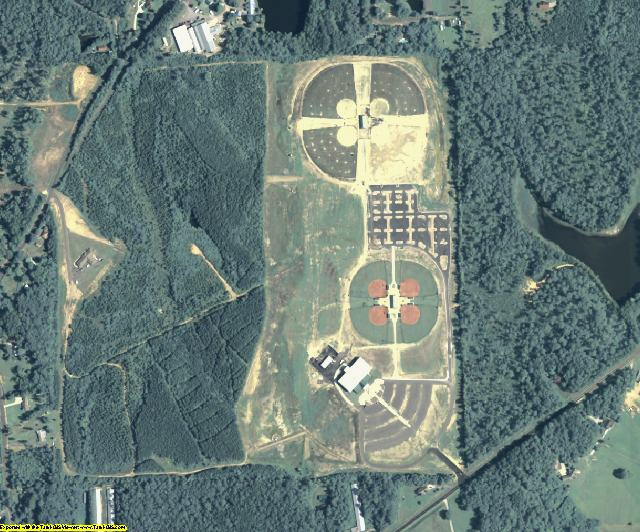 Murray County, GA aerial photography detail