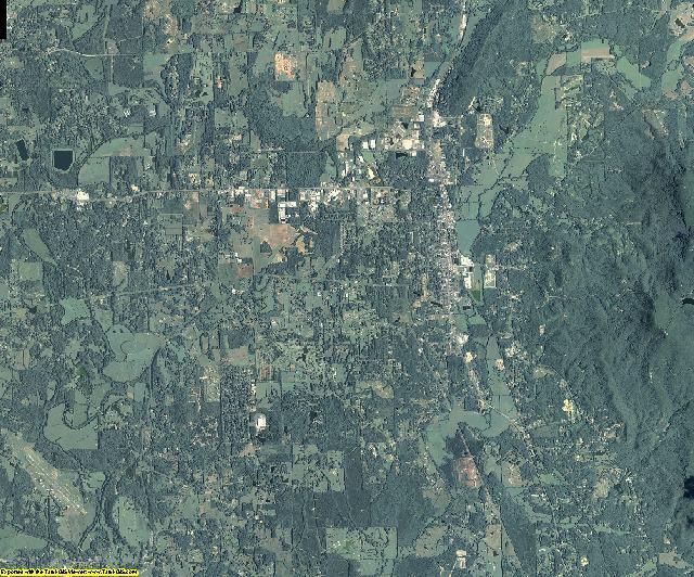Murray County, Georgia aerial photography