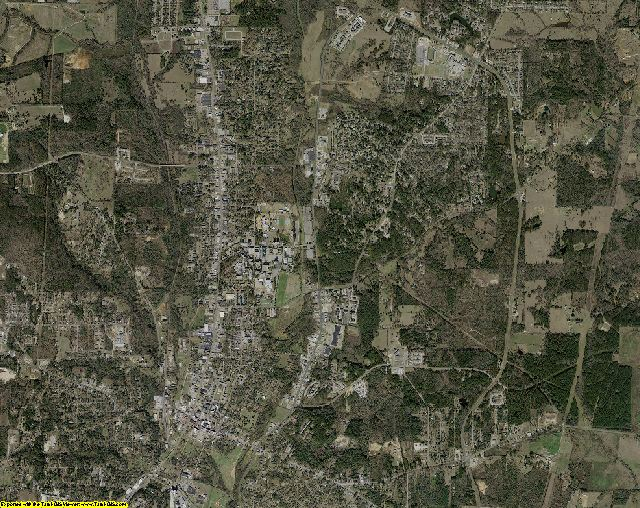 Nacogdoches County, Texas aerial photography