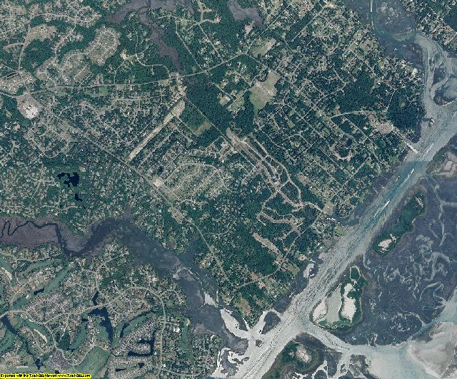 New Hanover County, North Carolina aerial photography