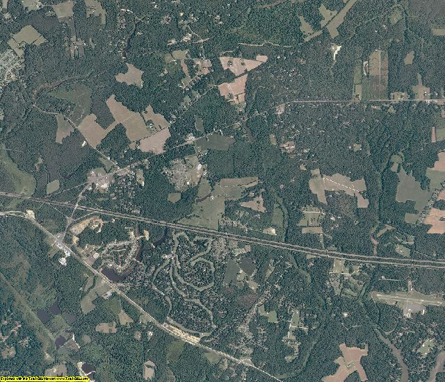 New Kent County, Virginia aerial photography