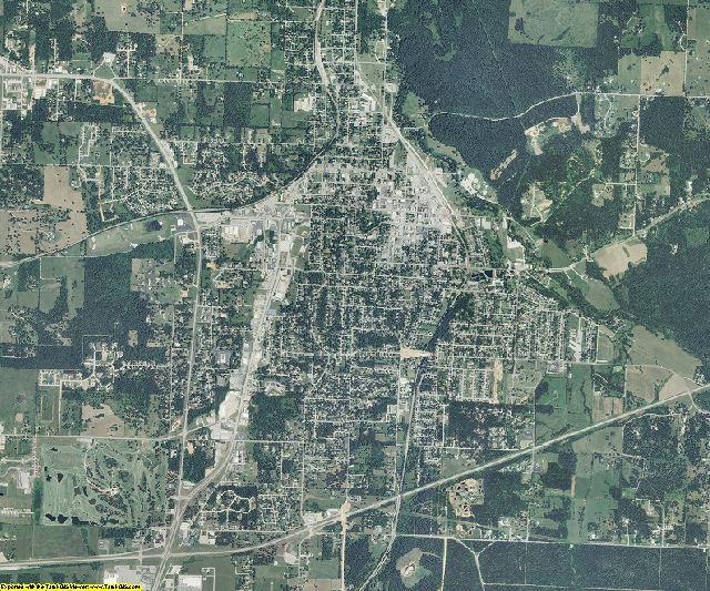 Newton County, Missouri aerial photography