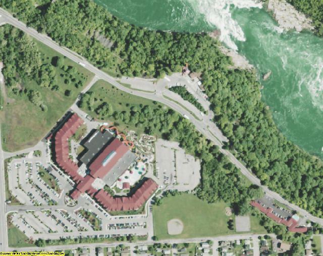 Niagara County, NY aerial photography detail