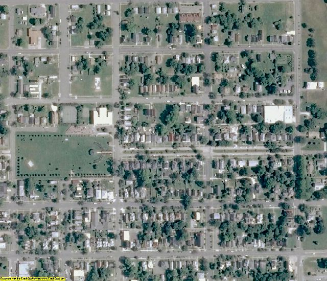 Northampton County, VA aerial photography detail