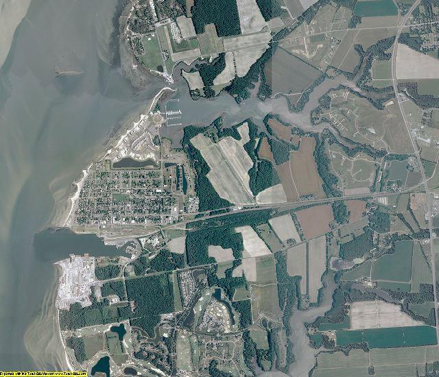 Northampton County, Virginia aerial photography