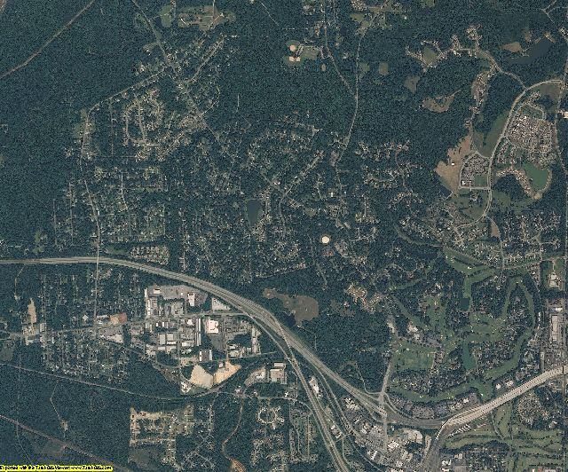 Orange County, North Carolina aerial photography
