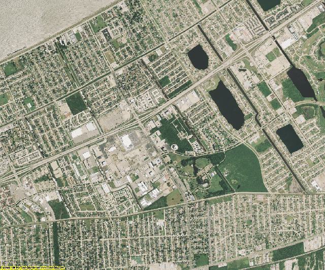 Orleans County, Louisiana aerial photography