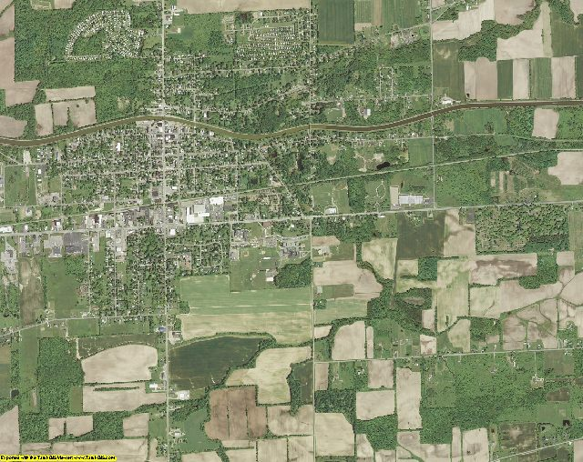 Orleans County, New York aerial photography