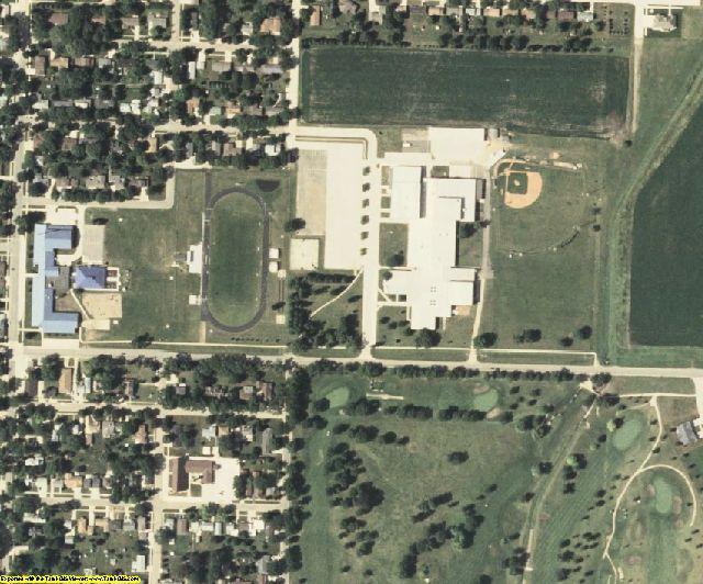 Osceola County, IA aerial photography detail