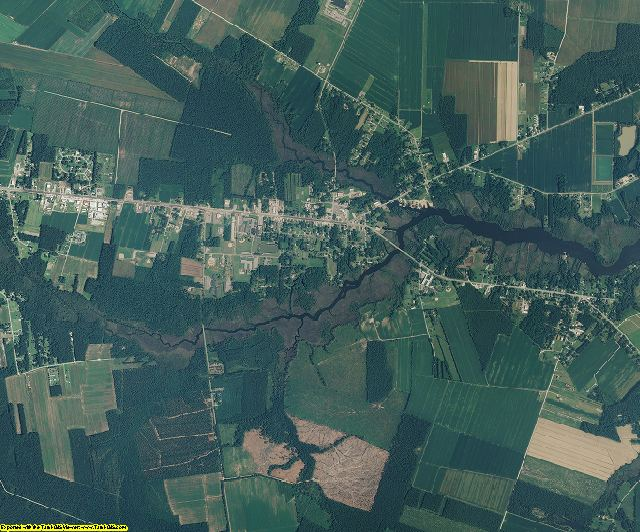 Pamlico County, North Carolina aerial photography
