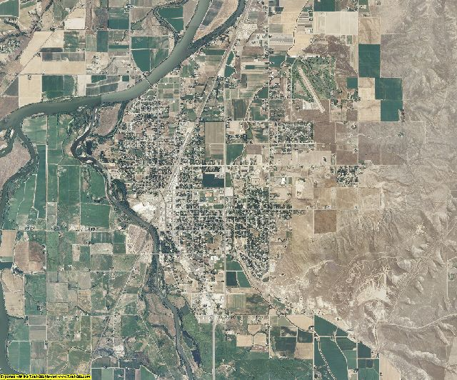 Payette County, Idaho aerial photography