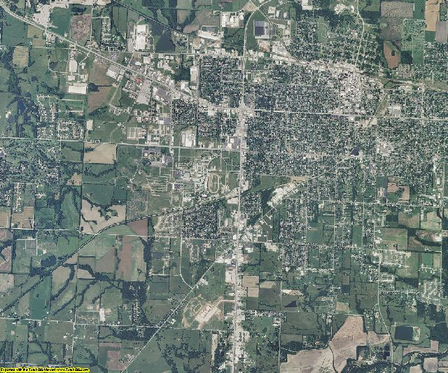 Pettis County, Missouri aerial photography