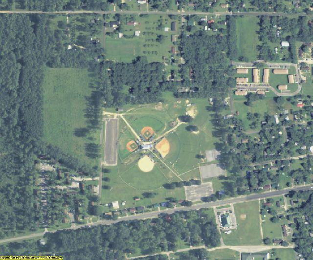 Pierce County, GA aerial photography detail