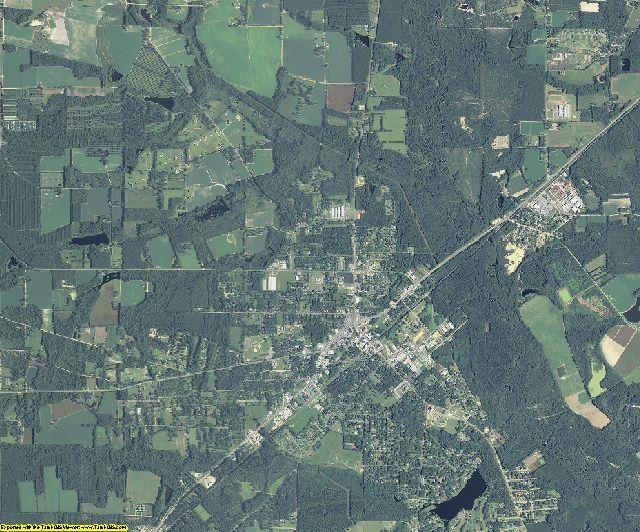 Pierce County, Georgia aerial photography