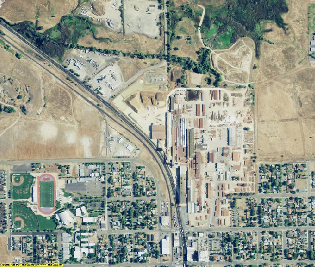 Placer County, CA aerial photography detail