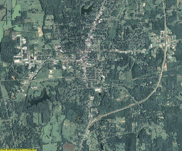 Polk County, Georgia aerial photography