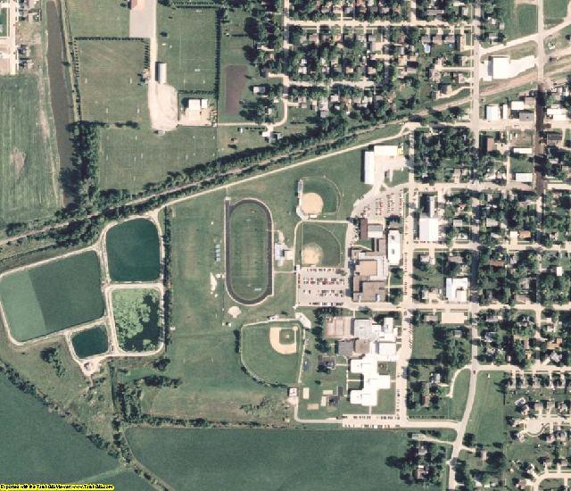 Polk County, IA aerial photography detail