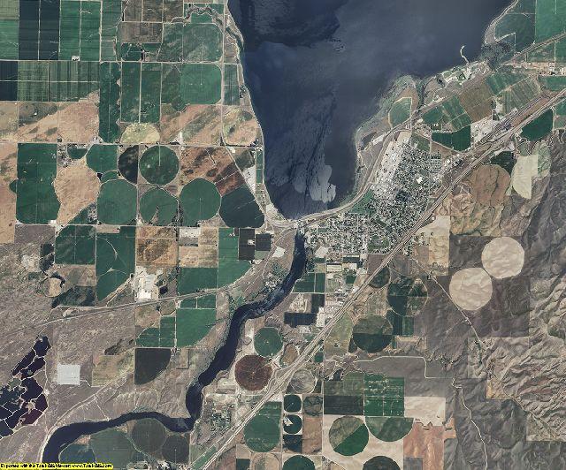 Power County, Idaho aerial photography