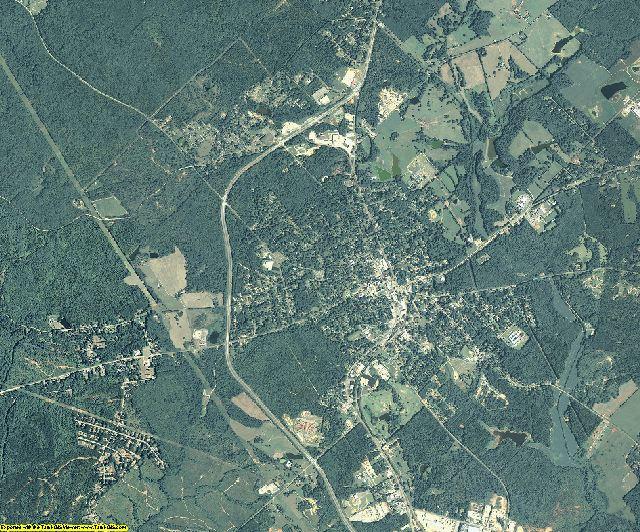 Putnam County, Georgia aerial photography