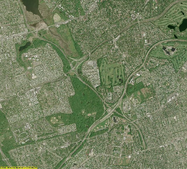 Queens County, New York aerial photography