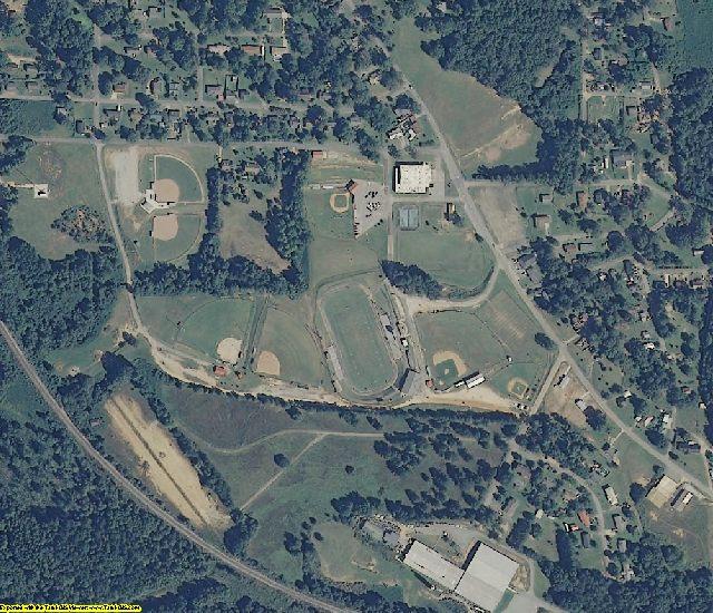 Randolph County, AL aerial photography detail