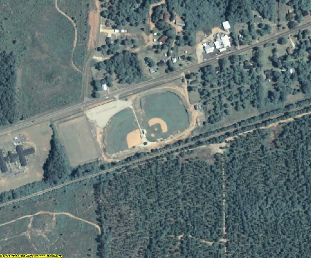 Randolph County, GA aerial photography detail