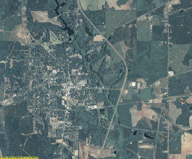 Randolph County, Georgia aerial photography