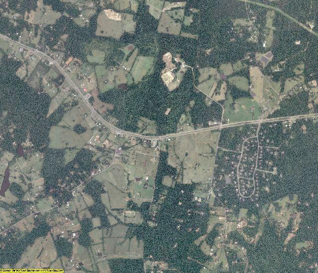 Rappahannock County, Virginia aerial photography