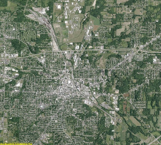 Richland County, Ohio aerial photography