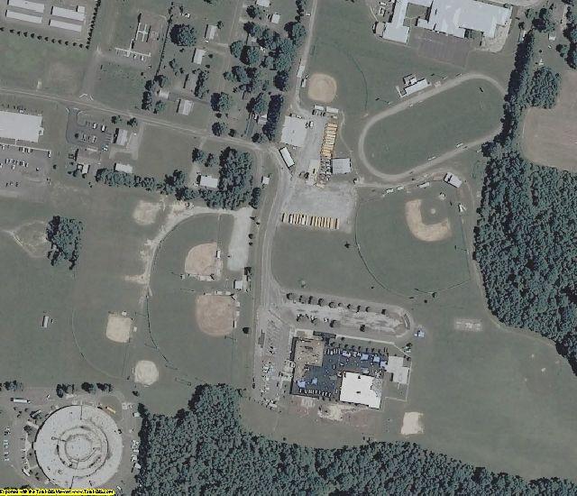 Richmond County, VA aerial photography detail