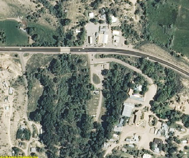Rio Arriba County, NM aerial photography detail